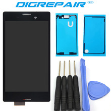 "5.0"" For Sony Xperia M4 Aqua E2303 E2353 E2333 LCD Display Touch Screen with Digitizer Assembly Adhesive Free Tools"