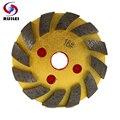 RIJILEI 100 мм Алмазный шлифовальный диск morble металлическая шлифовальная площадка гранит шлифовальный круг чашка бетонный пол шлифовальная чаш...