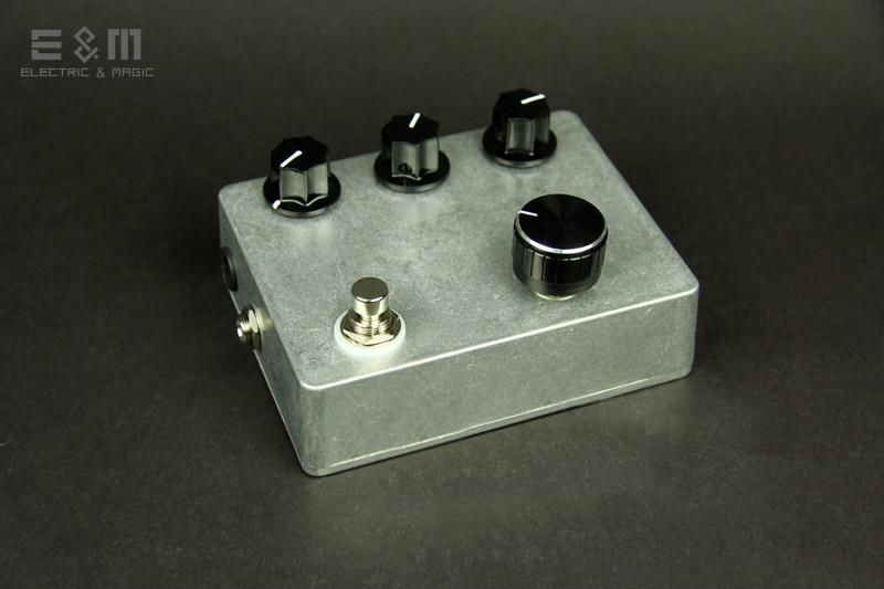 цена на DIY MOD Overdrive TS9DX Turbo Tube Screamer Pedal Electric Guitar Stomp Box Effects Amplifier AMP Bass Accessories