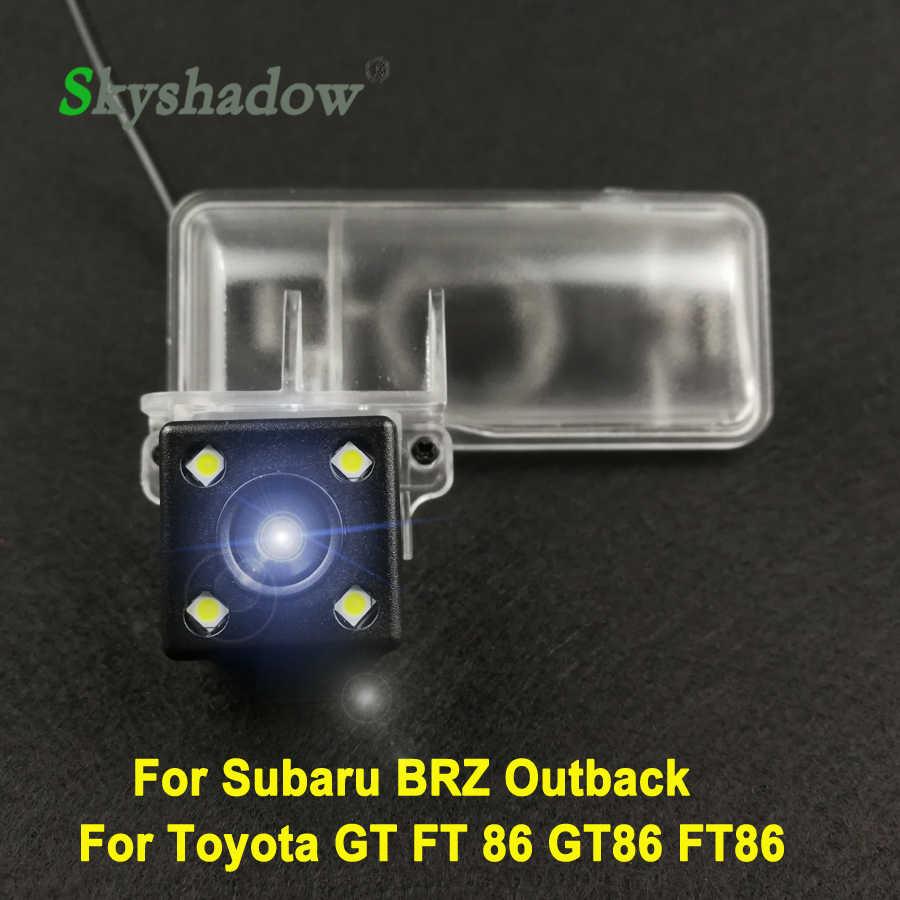 Для Subaru BRZ Outback Toyota GT FT 86 GT86 FT86 автомобиля CCD Ночное видение обратный резервный Парковка переключение на задний Обзор заднего вида Камера