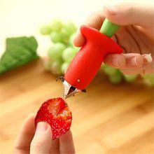 Красный с зеленым корингом овощные фруктовые инструменты стебель