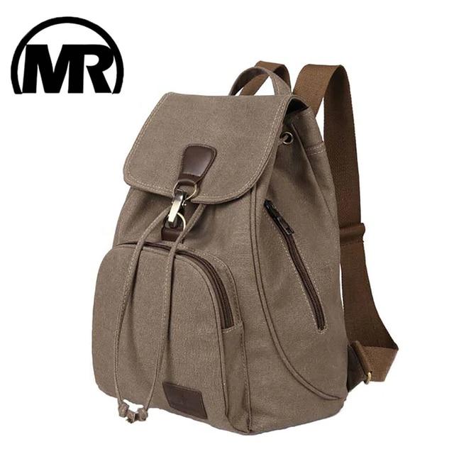 MARKROYAL Women Backpack Retro Canvas Backpack With High Quality For Teenage Girls Female School Shoulder Laptop Bag Mochila