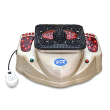HealthForever Brand Remote Control Legs Infrared Vibration Luxury Blood Circulation Massager Electric Foot Massage