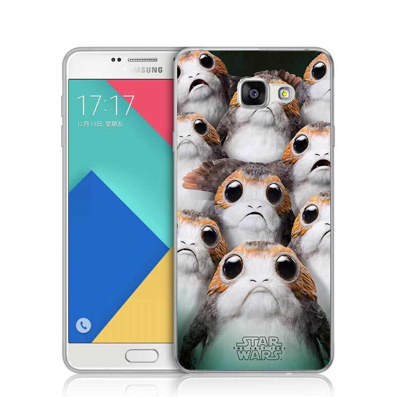 wholesale dealer 81d3a 00e37 Star Wars The Last Jedi Retro Porg BB-8 R2-D2 Soft Phone Case For Samsung  S5 S6 S7 Edge S8 S8 Plus A3 A5 A7 2017 J3 J5 J7 2016