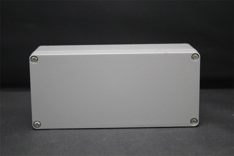 175*80*56MM Size Industrial Waterproof Aluminium Box / Electrical Aluminium Enclosure With CE,ROHS 2015 ip66 electrical aluminium enclosure waterproof box 300 210 130 with 4 screws
