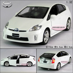 New 1 32 Toyota Prius Alloy Cast Model Car With Sound Light White B200c In Casts Toy Vehicles From Toys Hobbies On Aliexpress Alibaba Group