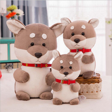 Lovely Simulation Dog Soft Plush Toy Stuffed Animal Doll Birthday Gift Send to Kids