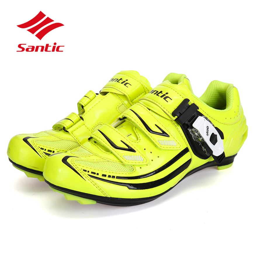 Santic Cycling Shoes Women Self-Locking Pro Road Bike Shoes Athletic Racing Bicycle Shoes Chaussure Velo Sapatilha Ciclismo santic men cycling shoes tpu athletic self locking sports triathlon road bicycle bike shoe sapatillas ciclismo chaussure velo