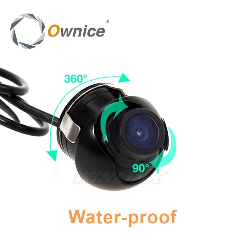Universal Nachtsicht Wasserdichte HD CCD Auto Rückansicht Kamera alle Winkel Ansicht Kamera Parkplatz Kamera für Alle auto