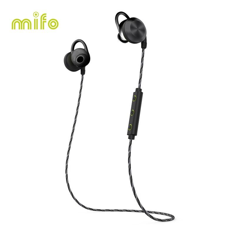mifo U2 Magnet Wireless Bluetooth Earphone Sport Waterproof Headset Bluetooth Earbuds Wireless Headphones Stereo For iphone