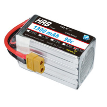 HRB RC Lipo 6S Battery 22.2V 1300mAh 90C 180C Drone AKKU RC Baterry For Helicopters RC KT Plate Airplane Car Quadcopter Boat UAV