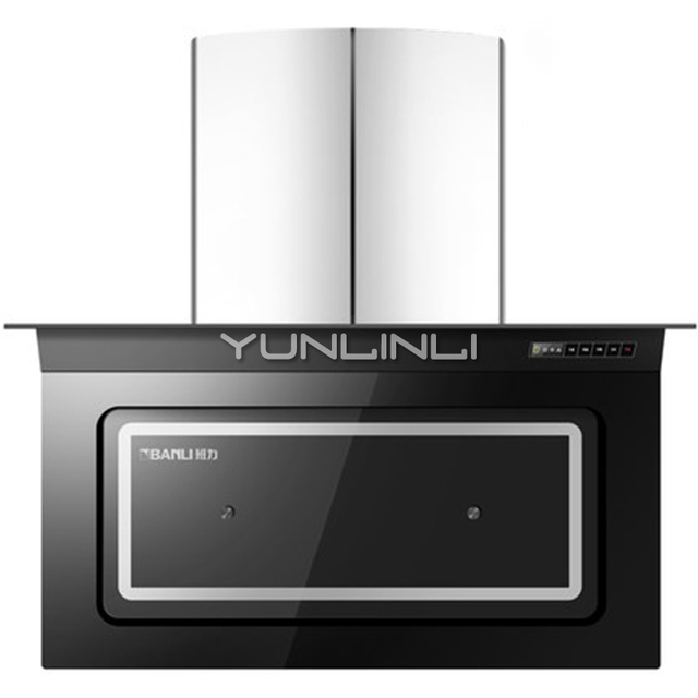 kitchen ventilator wall units household range hood side suction hoods high power oil smoke exhaust cxw 198 l910