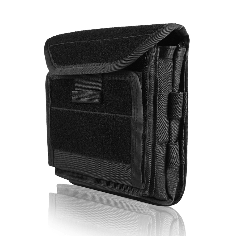Tactical Admin Magazine Ammo Storage Pouch Security Pack Carry Vest Accessory Kit Loops Waist Molle Bag For Mag Map Flaslights