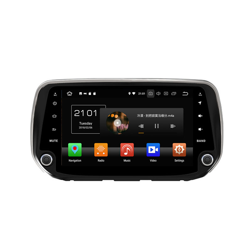 ROM 64G Android 8.0 For Hyundai IX45/ Santa Fe 2018 Octa Core PX5 Car DVD Multimedia player GPS Navigation Autoradio dvd player
