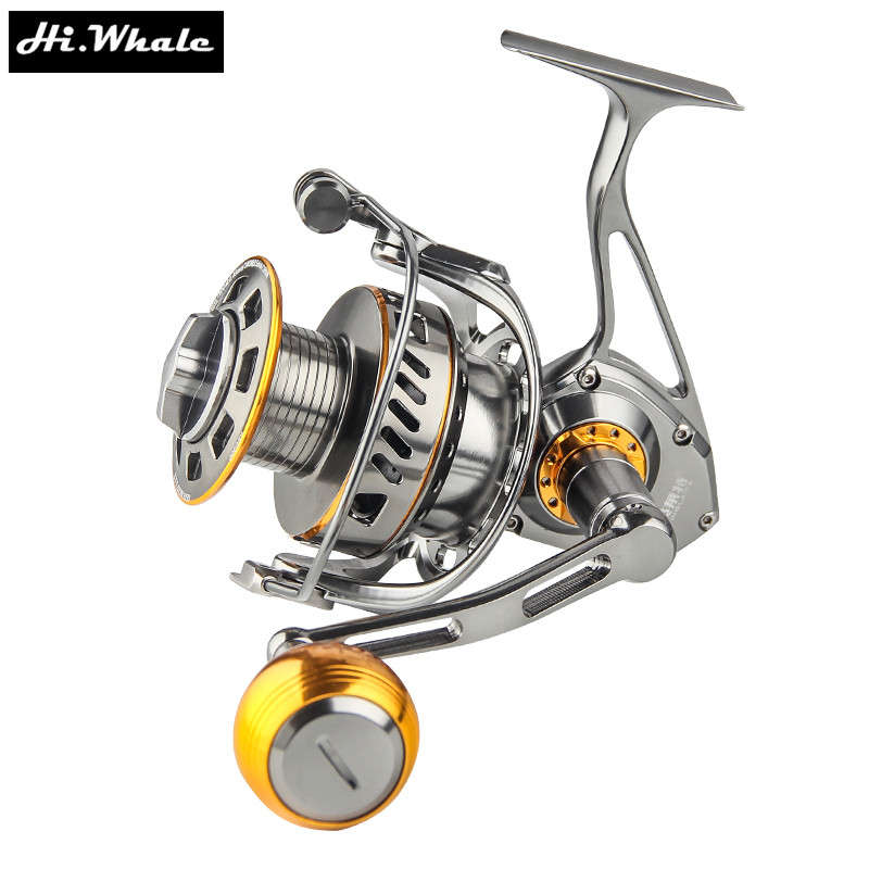 All - metal sea fishing wheel 3000-6000 series 13 bearing boat reel jig trolling fishing reel Spinning reel tokushima hf series all metal double bearing 5 1 bearings spinning reel 4 5 1
