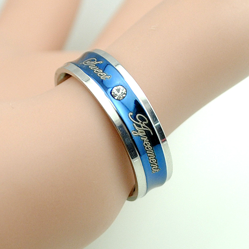 Romantic Bands: Romantic 6mm Wedding Bands Stainless Steel Rings