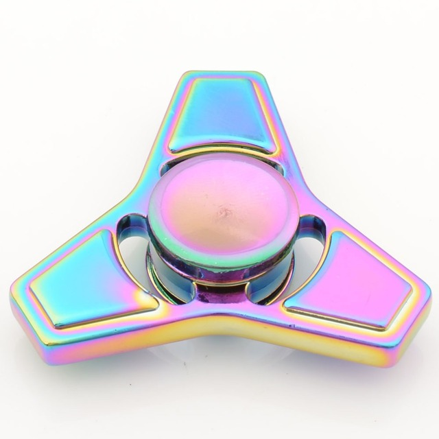 Finger Spinner Fidget metal EDC Hand Spinner For Autism and ADHD Anxiety Stress Relief Focus Fidget Spinner