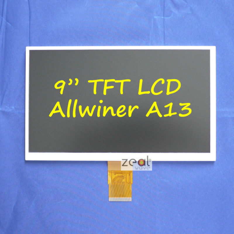 HW800480F-4A-0A-30 40 9 9inch LCD LCM Display PANEL screen 800*480 For Allwinner A13 Q9 Q90 Tablet PC10 AS AT090TN10