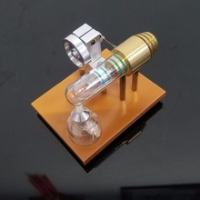 Miniature Free Piston Stirling Engine Model