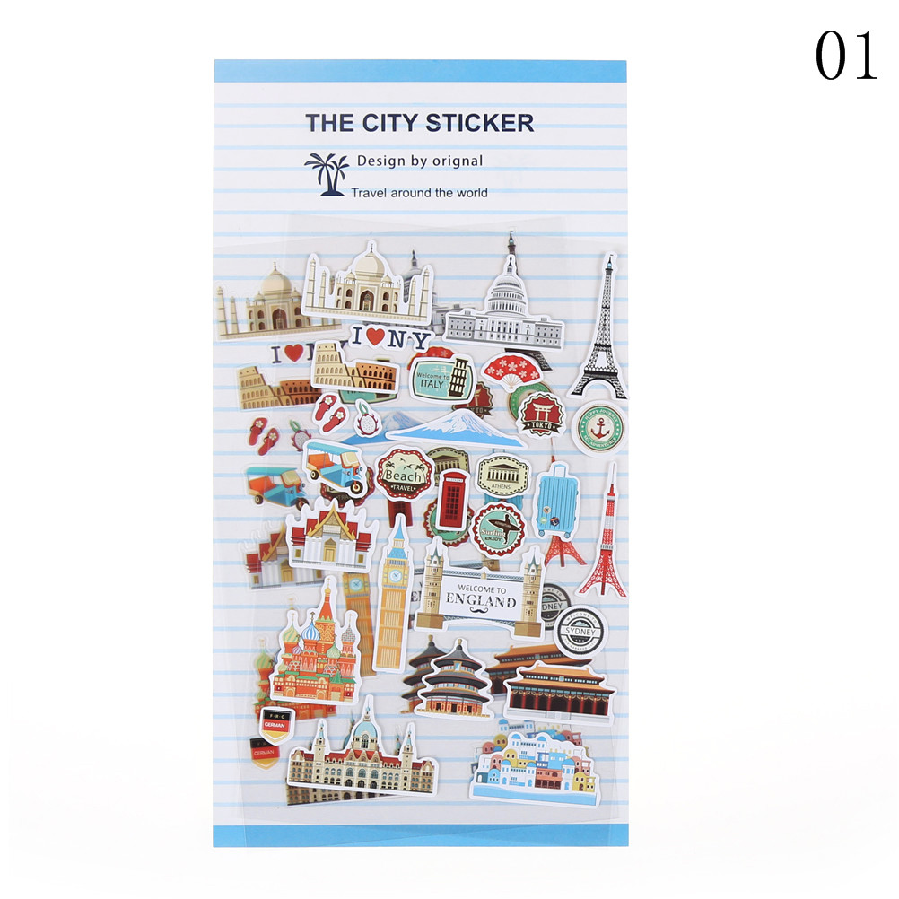 Office & School Supplies Self-Conscious New Style 46pcs Small Item Collection Paper Sticker Diy Diary Paper Lable Sealing Stickers Crafts Decor For Album Scrapbooking Handsome Appearance