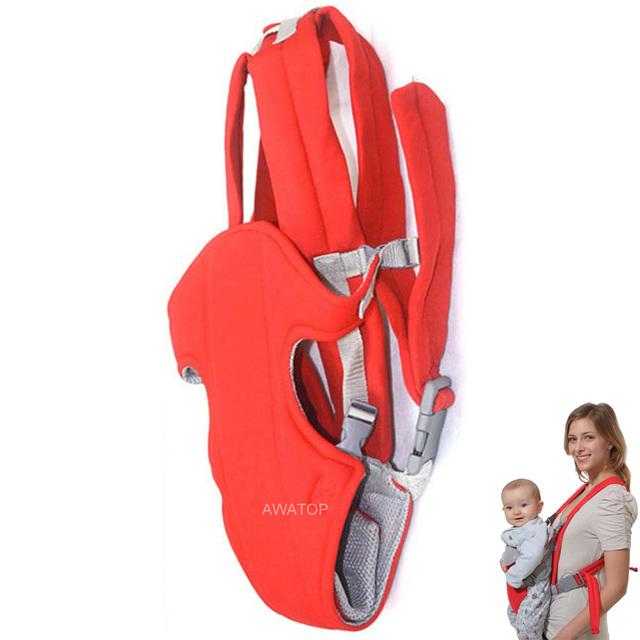 Respirável Multifuncional Frente Virada Baby Carrier Infantil Confortável Sling Backpack Envoltório Bolsa Canguru Do Bebê Para 3-30 Meses