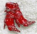 Atacado & varejo de Moda Broche de Strass Pinos Sapatos Altos-sapatos de Salto Alto broches Enameling C101217