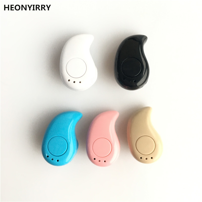 HEONYIRRY Mini Wireless Bluetooth Earphone S530 Cordless Hands free In-Ear Blutooth Stereo Auriculares Earbuds Headset Phone