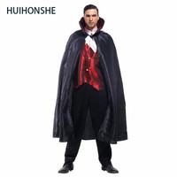 New Adult Mens Handsome Dracula Vampire Halloween cosplay Carnival Christmas Cosplay Costumes For Men Fancy Dress Party Devil