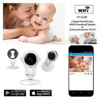 720P Smart Wireless Baby Monitor IP Camera Wifi Baby Camera Baby Electronic Network Monitors For IOS