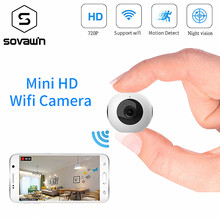 Mini Camera Wifi IP HD Night Vision 720P Camcorder Android Outdoor DVR DV 140 degree Wide Angle Motion Detection Portable Cam(China)