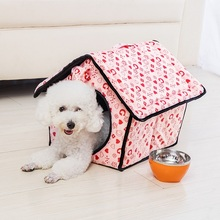Removable Cover Mat Dog House Beds For Small Dogs Pet Products for Cat