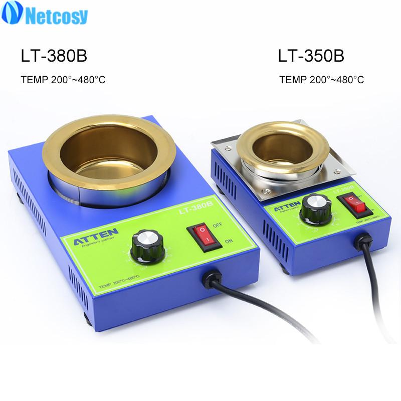 High-power Small Lead-free Adjustable Temperature Melting Tin Furnace Solder Pot Welding Tool LT-350B LT-380B