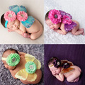 Newborn Baby Costume photography newborn butterfly Outfits Flower headwear+butterfly Wings Infant Photography Prop Accessories