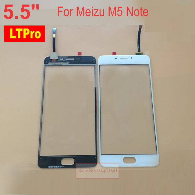"""LTPro TOP Quality 5.5"""" White Outer glass panel Touch Screen Digitizer For Meizu M5 Note / Meilan Note 5 Note5 Phone parts"""