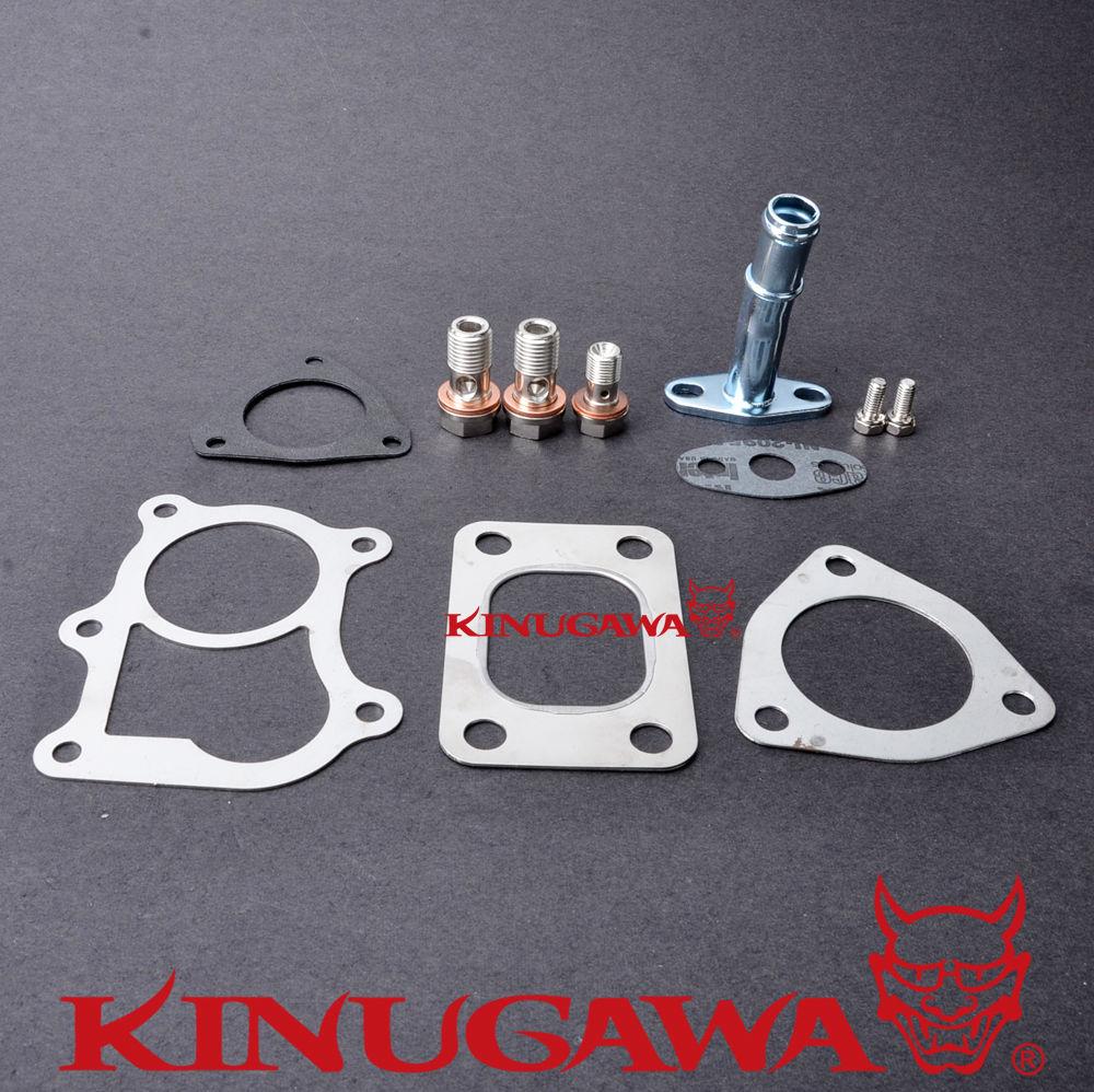 Kinugawa Kit de joint Turbo pour Nissan QD32 D22 Navara Cabstar Terrano 3.2L Diesel GT22 TD04L