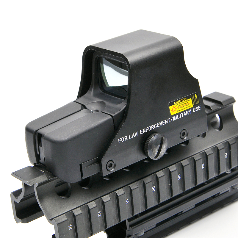Kollimator Holographische Anblick Rot und Grün Dot Optic Sight Reflex Anblick mit 20mm Schienen Halterungen für Airsoft Sniper Gewehr jagd