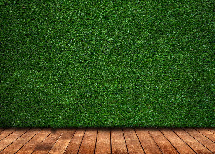 how to fix artificial grass on floor
