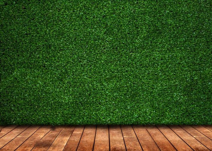 artificial fake faux green grass wood floor backdrops vinyl cloth