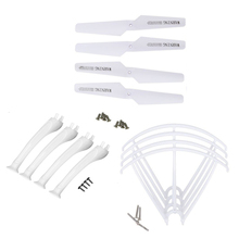 4Pcs Blade/Tripod/Protection Ring Parts Accessory For Syma X5SC X5SW HOT