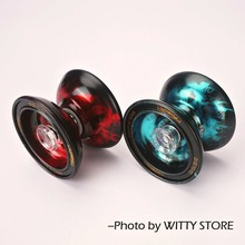 High Speed Alloy Yoyo Qian-Long  Professional Diabolo  High Precision Game Special  Props Dead Sleep  Children Gift metal yo-yo