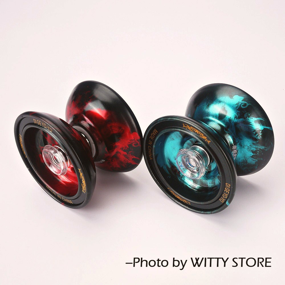 High Speed Alloy Yoyo Qian-Long Professional Diabolo High Precision Game Special Props Dead Sleep Children Gift metal yo-yo ...