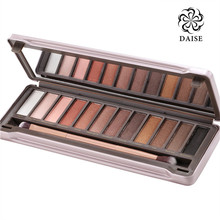 Hot Make up 12 colors Eyeshadow naked Palette 1 2 3 NK cosmetic NAKE eye shadow case Makeup set Eye Shadow