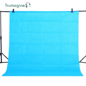 Image 2 - Фон для фотосъемки, зеленый экран из нетканого материала, 1,6x 3 м/5,2X9,8 Фута, фотостудия, экран для фотосъемки хромаки