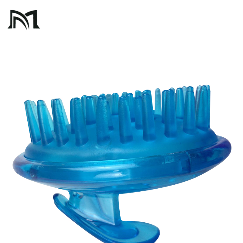 Massage Combs Hairstyle Combing Tool Elastichair Brush Massage Plastic Comb Portable Mini barber Hairbrush Pink Hairdressing
