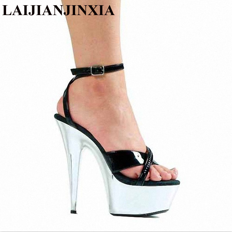 Office & School Supplies Laijianjinxia 2018 New Design Women Pole Dancing Shoes 15cm Utra High Heel Strap Sandals Party Sexy Dance Shoes Strengthening Waist And Sinews