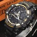 Fashion Quartz Men Watch Top Brand Luxury Digital Watch Men LED Sports Military Wrist Watches Male Waterproof Relogio Masculino