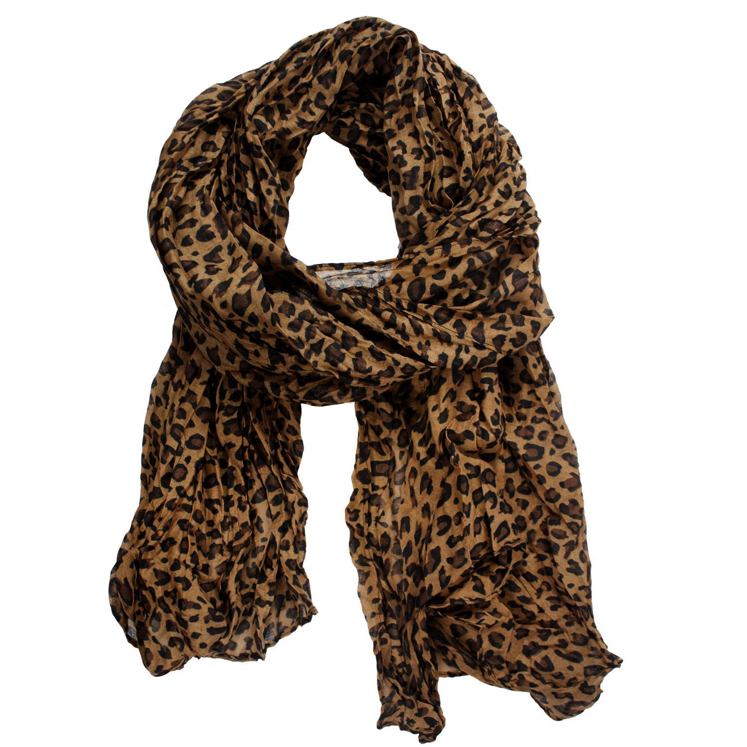 NEWNEW Girl Fashion Leopard Pattern Shawl Scarf Wrap for Women Gifts gaze de paris ...
