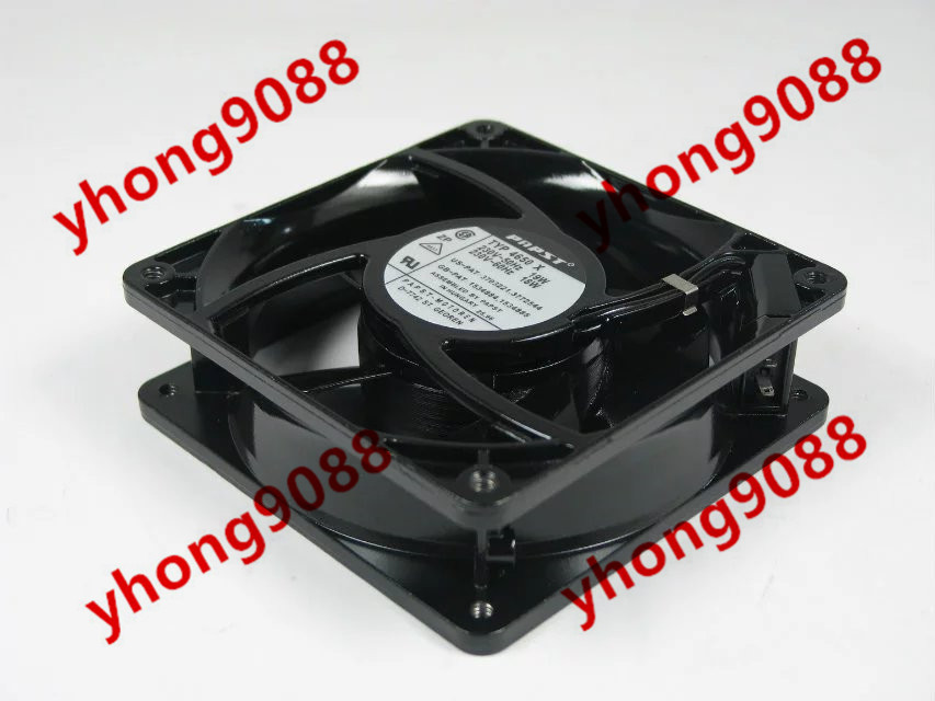 Free Shipping For Papst TYP 4650 X TYP 4650X AC 220V 230V 50Hz 60Hz 18W 19W 2-pin 120x120x38mm Server Square Cooling Fan free shipping for adda aa8382hb aw s ac 220 240v 0 07 0 06a 2 pin 80x80x38mm server square fan free shipping