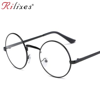 RILIXES DH  Eye Picture Frame Fashion Men And Women  Glasses European Trend Plain Glass Spectacles Frame Trendsetter Necessary