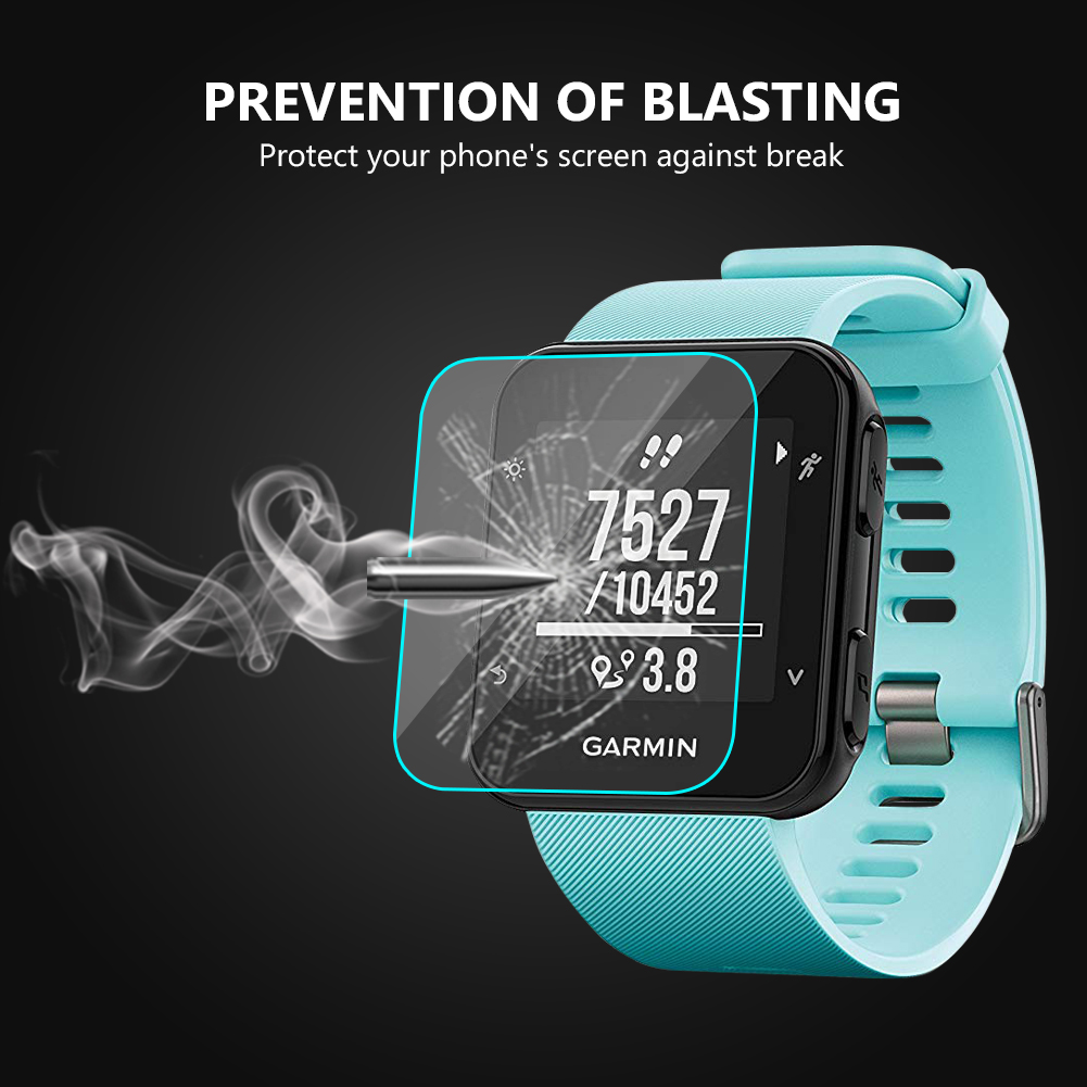 Image 4 - For Garmin Forerunner 35 Sport Smart Watch Tempered Glass 9H 2.5D Premium Screen Protector Film For Garmin Forerunner 35 Film-in Smart Accessories from Consumer Electronics